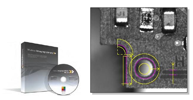 Matrox社製画像処理ライブラリ「MIL」の計測機能ツール